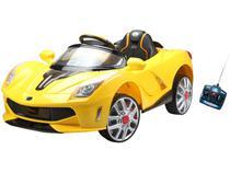 Mini Carro Elétrico Infantil Esporte Luxo - com Controle Remoto Emite Sons Bel Brink