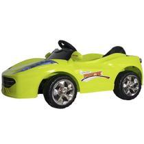 Mini Carro Elétrico Infantil Verde - Bateria Recarregável De 6v - ImportWay -