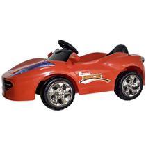 Mini Carro Elétrico Infantil Vermelho - Bateria Recarregável De 6v - ImportWay -