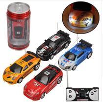 Mini Carro Veículo De Controle Remoto 1pc Lata Racing Dtc -