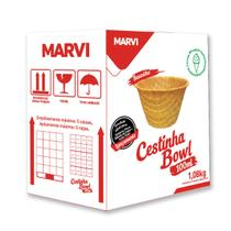 MINI CESTINHA BOWL 100ml MARVI C/120 - Marvi alimentos