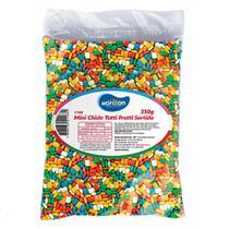 Mini Chiclete Colorido Tutti Frutti 350g - Horizon -