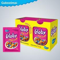 Mini Chiclete Coloridos Globy C/24un 11gr - Horizon -