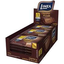 Mini Chocolate Ao Leite 15un X 13G Zero Açúcar Linea -