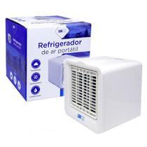 Mini Climatizador Ar Condicionado De mesa Pessoal  Ventilador de ar Portátil 3 niveis - Rwai6Bidk0Tk