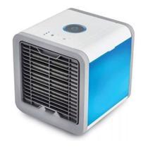 Mini Climatizador Ar Condicionado De mesa Pessoal Ventilador de ar Portátil 3 niveis - tomate