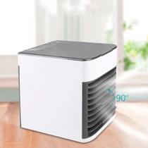 Mini Climatizador Umidificador Ar Condicionado Cooler  Luz Le d Arctic Air - Coolair