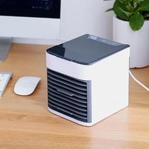 Mini Climatizador Umidificador Ar Condicionado Cooler  Luz Led Arctic Air - Artic Air