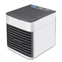 Mini Climatizador umidificador portátil USB ou tomada purifica, umidifica e esfria - VISION