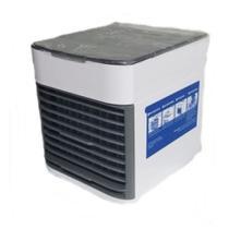 Mini Climatizador Ventilador Ar Agua Portátil Cooler 3 Velocidades Com Luz Led - Mkb