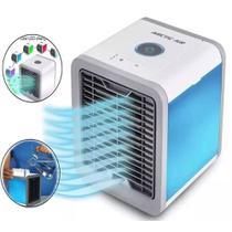 Mini  Climatizador Ventilador Umidificador De Ar Portátil Colorida Cool Down Original - Importador