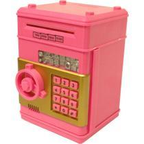 Mini cofre eletrônico nota - 1512126-pk - Lorben
