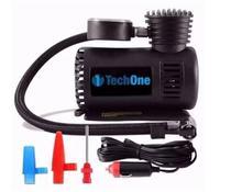 Mini Compressor Ar Automotivo Portátil 300 Psi Tech One 12v com botão liga e desliga - Techone
