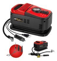 Mini compressor de ar 12v 110v ou 220v duo air plus schulz -