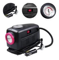Mini compressor de ar 12v air plus c/ lanterna air plus schulz -
