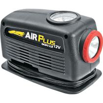 Mini Compressor de Ar 80W com Pressão Máxima de 20BAR e Lanterna Air Plus Schulz 12V -
