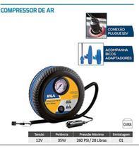 Mini Compressor Pneu Carro E Moto 12 Volts 18 Bar Bomba Ar - Kala