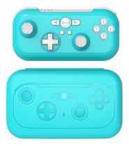 Mini Controle De Jogo Sem Fio para Nintendo Switch Vibração 6 Eixos - Verde - Ipega
