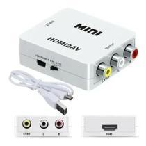 Mini Conversor Hdmi Para Rca Av Video Composto Hdmi2av 710 -