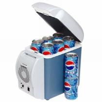 Mini Cooler Geladeira para Carro 7,5L Portatil 12v Camping Viagem - Megafun
