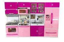 Mini Cozinha C/ Acessorios Som E Luz 9pc 818-30 - Esm