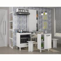 Mini cozinha com mesa, bancos e balcão cooktop Decari 12 - Palmeira