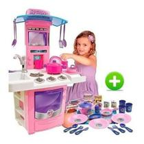 Mini Cozinha Completa Big Chef Infantil + Meu Jantarzinho - Big Star