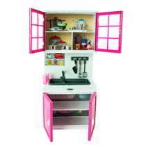 Mini Cozinha de Boneca - My Happy Kitchen - Armário com Pia - 31cm x 11cm - Yes Toys -