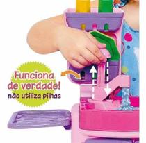 Mini Cozinha Infantil Cotiplás Pia, Forno E Sai Água -