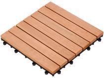 Mini Deck de Madeira Stain 30x30cm Massol Milão -