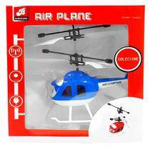 Mini drone helicóptero sensor remoto de mão com cabo usb recarregável - barcelona -