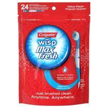 Mini Escova De Dentes descartável Colgate Wisp com 24 Unidades -