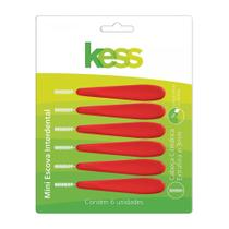 Mini Escova Interdental Kess Cilíndrica Extrafina 3mm 6 Unidades -