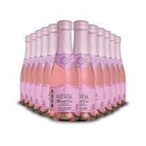 Mini Espumante Monte Paschoal Moscatel Rose 12x187ml -