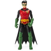 Mini Figura Articulada com Acessórios Surpresa - 9 Cm - DC Comics - Robin - Sunny -