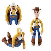 Mini figura articulada - hatch n heroes woody dtc unica -
