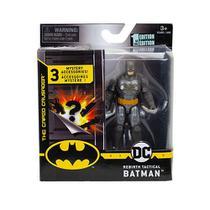 Mini Figura Batman Tactical Com Acessório Surpresa 9 Cm Dc - Sunny -