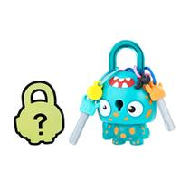 Mini Figura - Cadeado Surpresa - Lock Stars - Acqua Monstro - Hasbro -