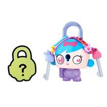 Mini Figura - Cadeado Surpresa - Lock Stars - Menina do Cabelo Azul - Hasbro -