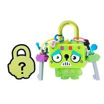Mini Figura - Cadeado Surpresa - Lock Stars - Robô Quadrado Verde - Hasbro -
