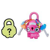 Mini Figura - Cadeado Surpresa - Lock Stars - Robô Redento Rosa - Hasbro -