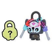Mini Figura - Cadeado Surpresa - Lock Stars - Sugar Skull Cat - Hasbro -