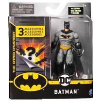 Mini Figura com Acessórios Surpresa - Batman - 10 cm - DC Comics - Sunny -