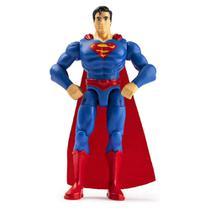 Mini Figura com Acessórios Surpresas - Super-Homem - 10 cm - DC Comics - Sunny -