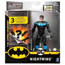 Mini Figura DC Comics Asa Noturna Acessórios Surpresa- Sunny -