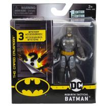 Mini Figura DC Comics Batman Preto Acessórios Surpresa-Sunny -