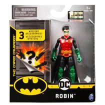 Mini Figura DC Comics Robin Acessórios Surpresa - Sunny -