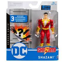 Mini Figura DC Comics Shazam Acessórios Surpresa - Sunny -