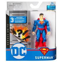 Mini Figura DC Comics Super-Homem Acessórios Surpresa- Sunny -