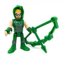 Mini Figura de Ação - 7 Cm - DC Comics - Imaginext - Lex Luthor com Acessórios - Mattel Copy -